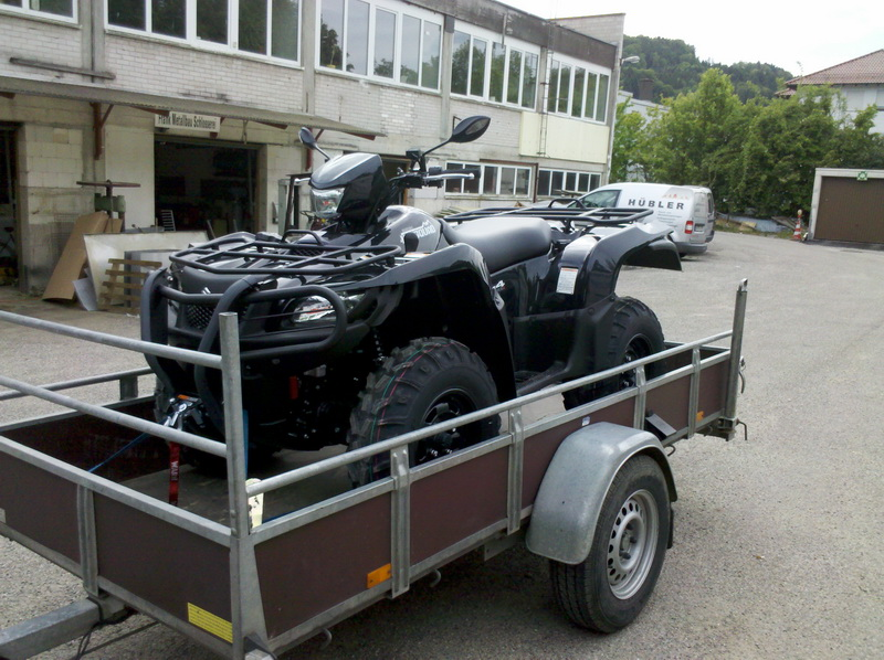 wald forstarbeit mit dem atv motors gen portal. Black Bedroom Furniture Sets. Home Design Ideas